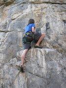 Rock Climbing Photo: Yaeger gettin' after it.