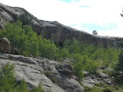 Rock Climbing Photo: A little bit of Spain in Colorado, but granite, an...