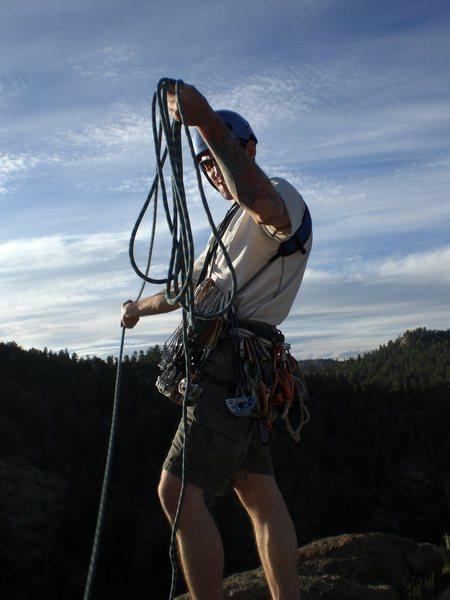 Rock Climbing Photo: 5.5 action hero