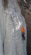 Rock Climbing Photo: Jaaron on lead.