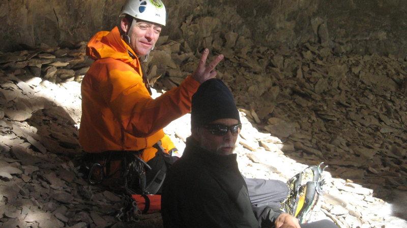 Rock Climbing Photo: Ice capades.