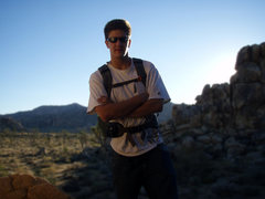 Rock Climbing Photo: Chilling in Joshua Tree