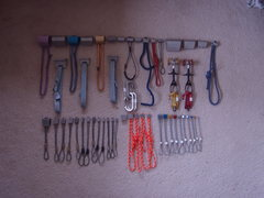 Rock Climbing Photo: All of the gear