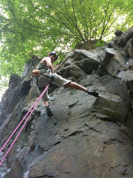 Rock Climbing Photo: Top Rope in Birdsboro, PA