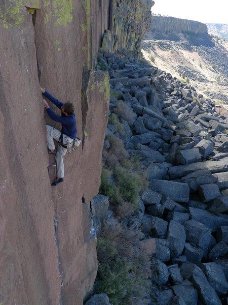 Rock Climbing Photo: Jesse B. sending