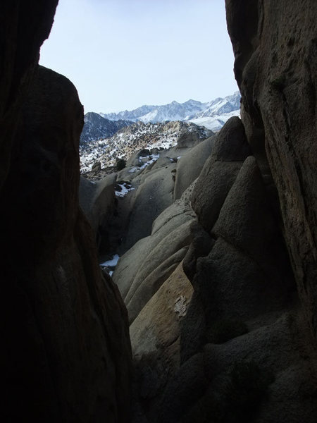 one of the many slot canyons