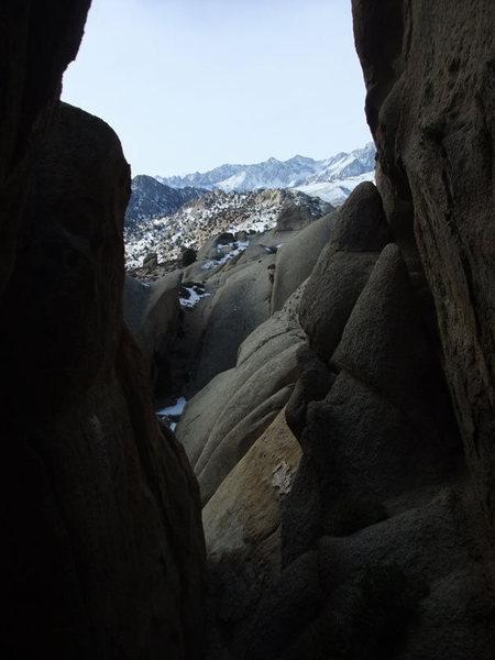 Rock Climbing Photo: one of the many slot canyons