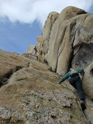Rock Climbing Photo: great dihedral on the Smoke's Course