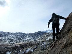Rock Climbing Photo: great views on the Smoke's course