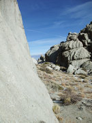 Rock Climbing Photo: blue bird day