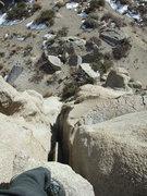 Rock Climbing Photo: fun offwidth practice