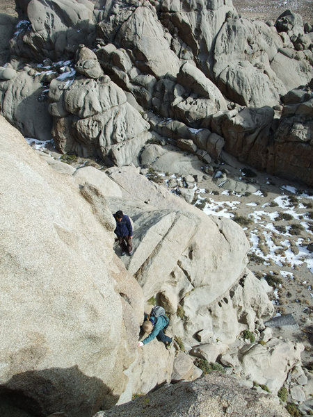 Rock Climbing Photo: lots of opportunties for exposure