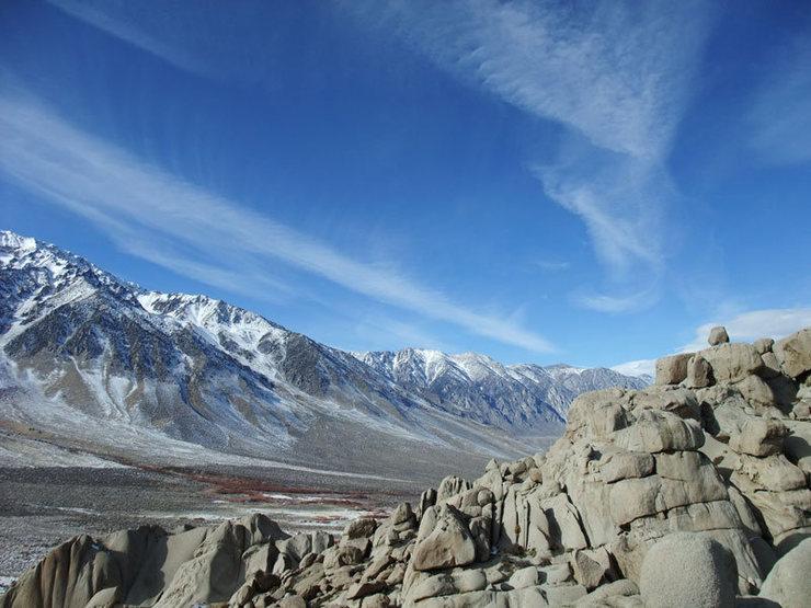 Rock Climbing Photo: looking toward Wheeler Crest