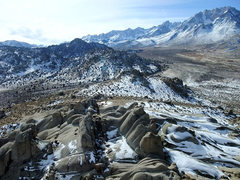 Rock Climbing Photo: looking toward Basin Mt & Mt Humphreys
