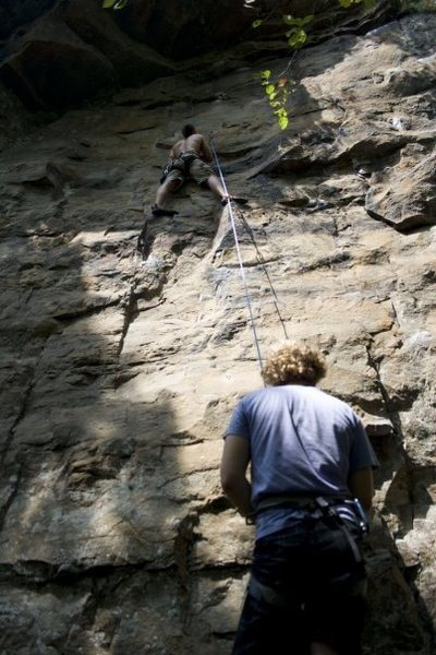 Rock Climbing Photo: Quest for Sticky Stuff 5.9