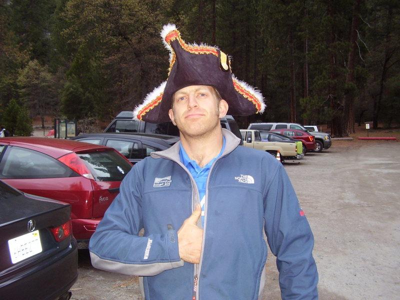 Yargh, Pirate Rob do be in Yosemite