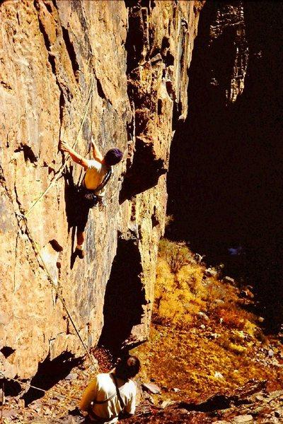 Rock Climbing Photo: Jim and Steve 2