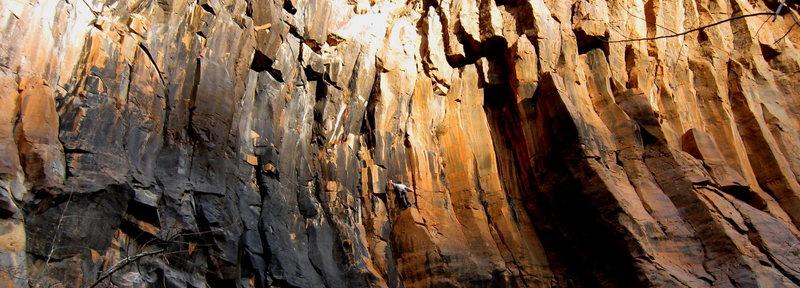 Matt S. Climbing Pyrokinesis.