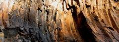 Rock Climbing Photo: Matt Schwarz getting used to the idea of having to...
