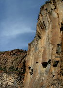 Rock Climbing Photo: Josh at the top of the Super Chron...