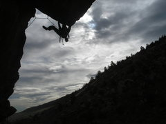 Rock Climbing Photo: Rob on Price for Fire.