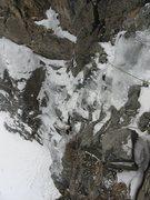 Rock Climbing Photo: A bit thin.