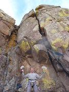 Rock Climbing Photo: Ready for battle.
