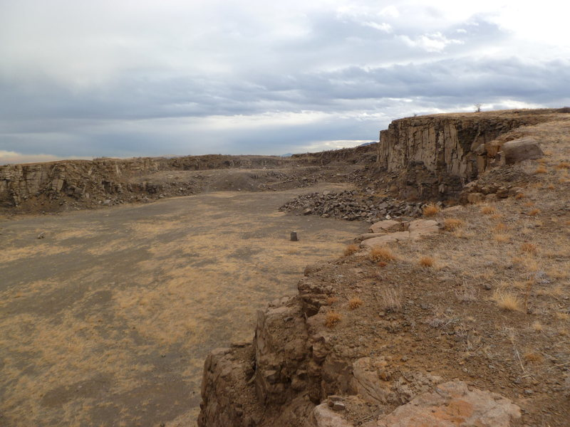 The North Quarry as seen from the North.