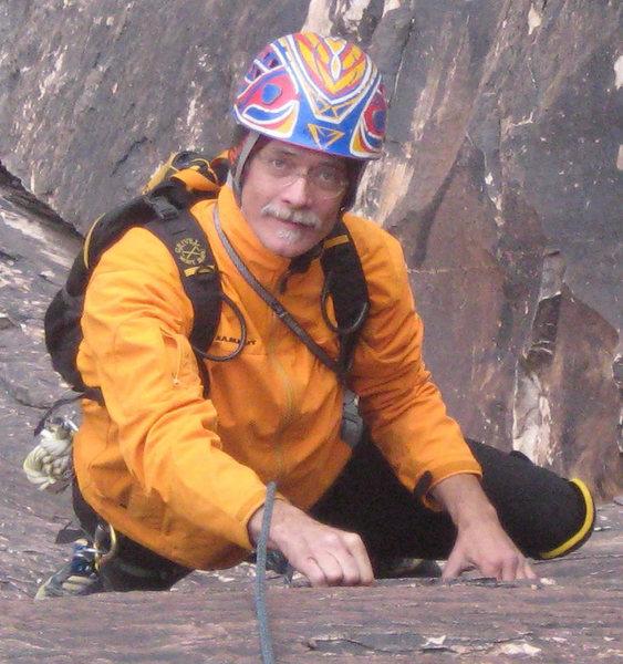 "Rock Climbing Photo: Crux of Buellah""s Book"