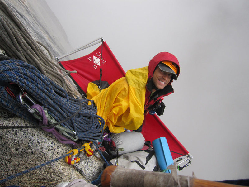 Rock Climbing Photo: Gettin' stormed on Pitch #5 of 'Freak Show' (V, 5....