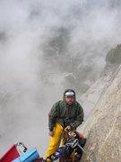 Rock Climbing Photo: Josh Mucci enjoying Mother Nature's mischief on 'F...