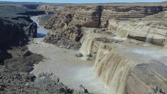 Rock Climbing Photo: Grand Falls