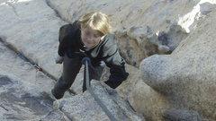 Rock Climbing Photo: Paloma at Jtree