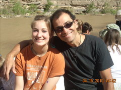 Rock Climbing Photo: Me n Valentina on the river