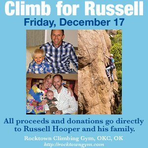 Rock Climbing Photo: Climb for Russell
