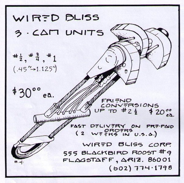 Old Wired Bliss Ad - 1986