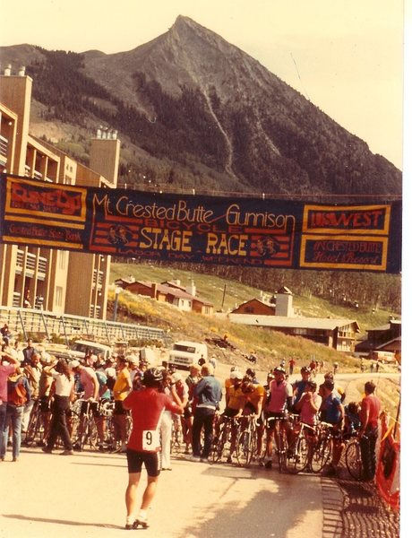 Rock Climbing Photo: The CB/Gunnison Stage Race from BITD.