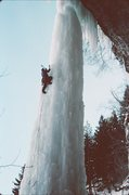 Rock Climbing Photo: Climbing The Fang in 1996. Notice the top is unatt...