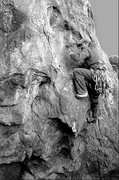"Rock Climbing Photo: Cosmic on ""Three Giant Steps"". Photo by ..."