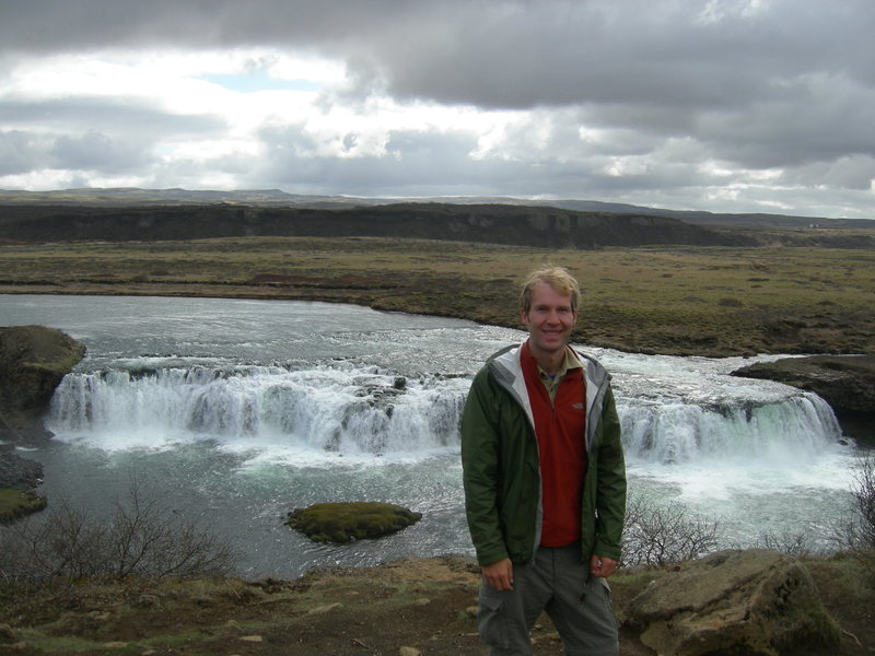 Rock Climbing Photo: water falls