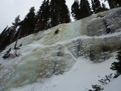Rock Climbing Photo: Jewell Lake ice in RMNP