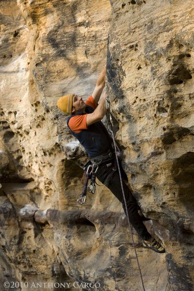 Rock Climbing Photo: Ethics Police. photo by Anthony Carco