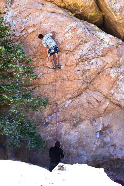Rock Climbing Photo: awesome climb! terrible warm up..