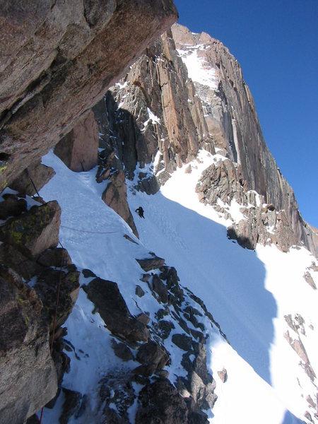 Rock Climbing Photo: More Broadway in Winter.