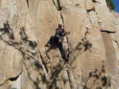 Rock Climbing Photo: Ortega Falls - Dihedral 5/7/10