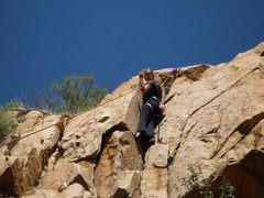Rock Climbing Photo: Ortega Falls - Dihedral 5/7/10