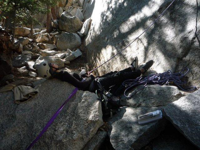 Rock Climbing Photo: Suicide Rock - The Hernia 10/13/10