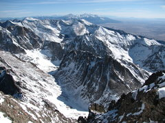 Rock Climbing Photo: View to the south from the top of Crestone Needle,...