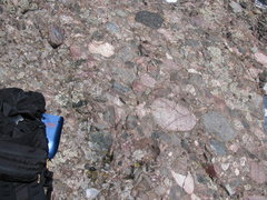 Dig that crazy Crestone Needle conglomerate.