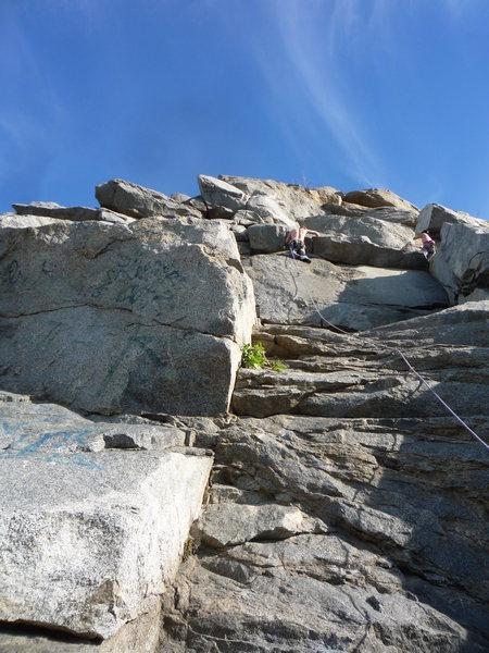 Rock Climbing Photo: Riverside Quarry - SchoolHouse Rock 11/30/10